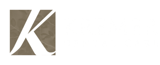 Kremer Dental Care Logo - white transparent