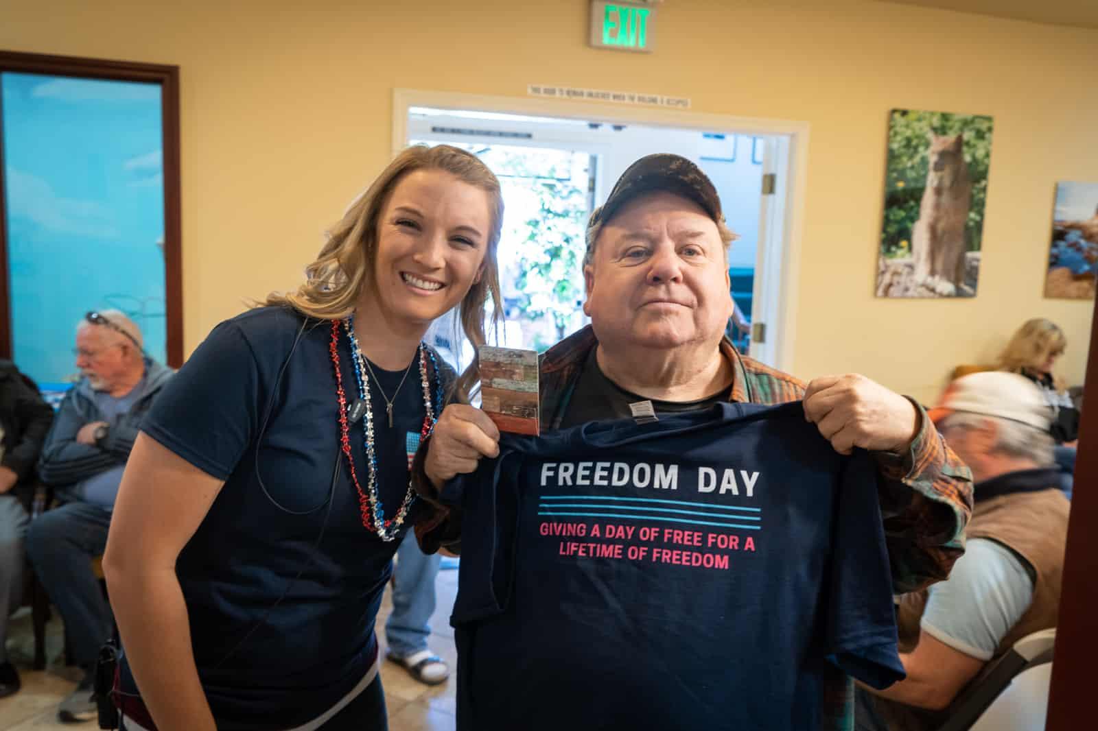 Freedom Day at Kremer Dental Care 2019